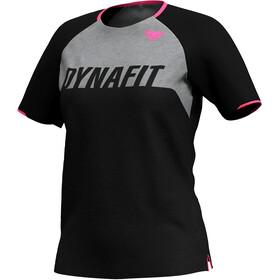 Dynafit Ride Kurzarm T-Shirt Damen schwarz/grau